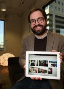 Dustin Curzon, créateur de l'application narrable