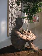 tastetlling sculpture Jaume Plensa
