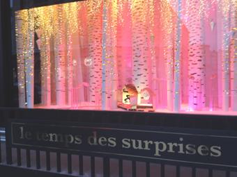 vitrines magasins Noël