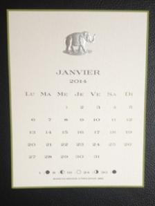Janvier-éléphant-gravure