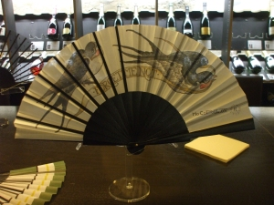 design fan by Duvelleroy