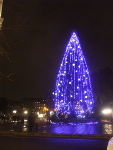 décoration de Noël Paris 2014