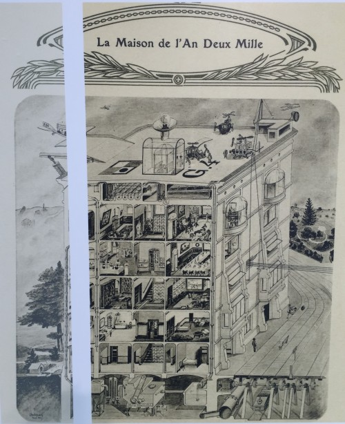 maison de l'an 2000 vu par Saint Gobain en 1913