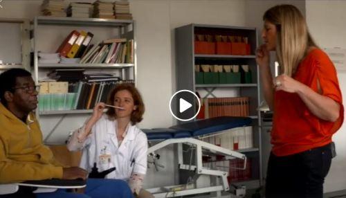 atelier parfum hôpital garches menée par So phie Bruneau