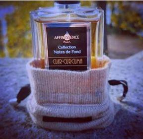 Parfum Affinessence cuir curcuma cadeau à storytelling