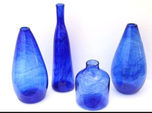 carafes Green recycling glass project